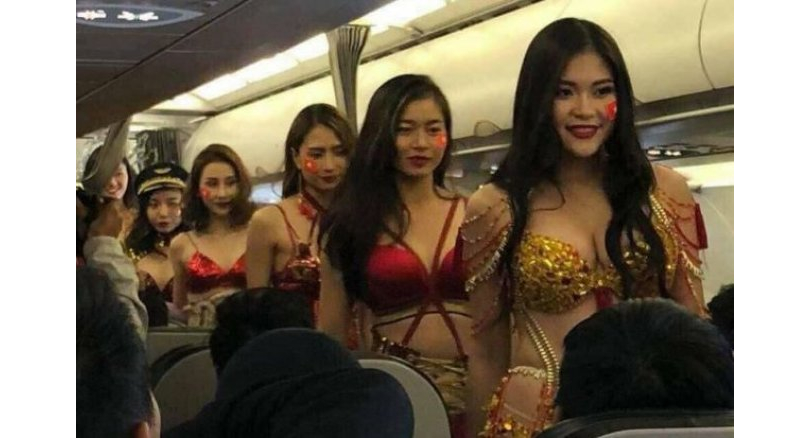 Vietjet: Bikini-clad models on flight spark another outrage