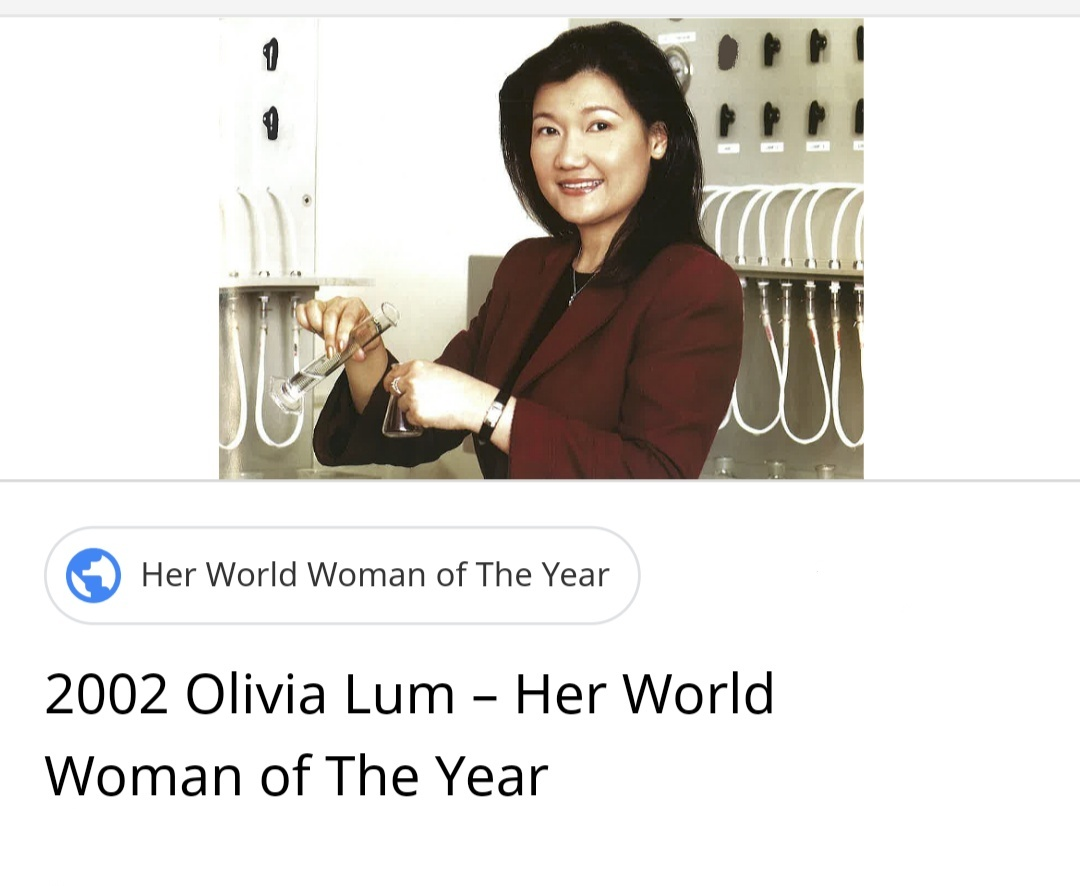 Serious - Olivia Lum Ooi Lin , BSc Chem (Hons) '86 NUS