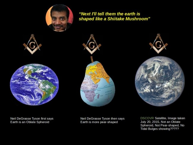 Image result for neil degrasse flat earth