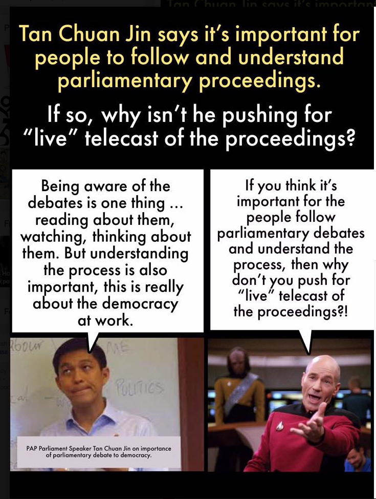 Petition for Live Streaming of Parliamentary Proceedings on